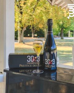 Cuvée Extra-Brut 30&3 - Champagne Prestige des Sacres - Non millésimé - Effervescent