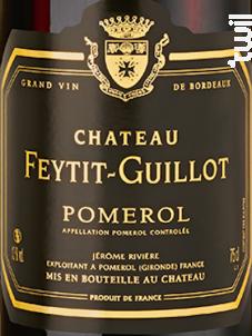 Château Feytit-Guillot - Château Feytit-Guillot - 2013 - Rouge