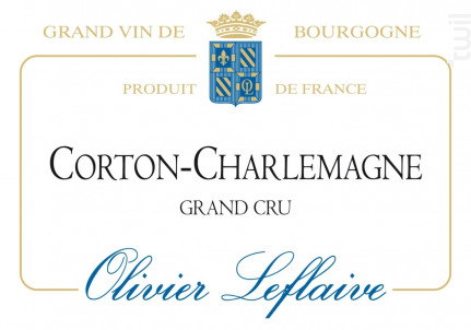Corton-Charlemagne Grand Cru - Maison Olivier Leflaive - 2013 - Blanc