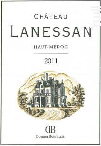 Château Lanessan - Château Lanessan - 2011 - Rouge