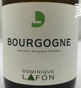 Bourgogne Chardonnay - Dominique Lafon - 2017 - Blanc