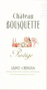 Cuvée Prestige - Château Bousquette - 2016 - Rouge