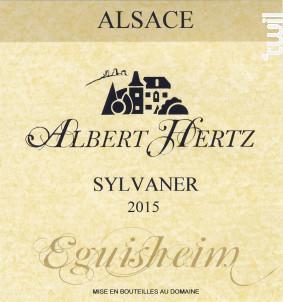 Sylvaner - Albert Hertz - 2015 - Blanc