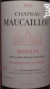 Château Maucaillou - Château Maucaillou - 2012 - Rouge