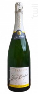 Blanc de Blancs Grand Cru - Champagne Claude Beaufort - Non millésimé - Effervescent