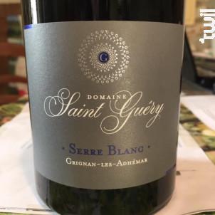 Serre Blanc - Domaine Saint Guéry - 2015 - Rouge