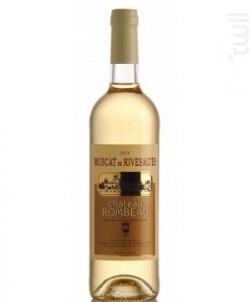 Château Rombeau Vin Doux Naturel Muscat de Rivesaltes - Château de Rombeau - 2020 - Blanc