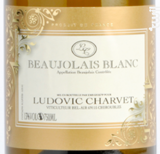 Beaujolais Blanc - Domaine Ludovic Charvet - 2017 - Blanc
