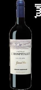 Château L'Hospitalet Grand Vin - Maison Gérard Bertrand - Château l'Hospitalet - 2018 - Rouge
