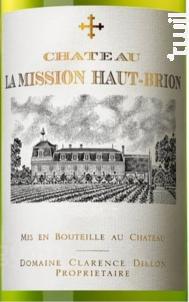 Château La Mission Haut Brion - Château La Mission Haut Brion - Domaine Clarence Dillon - 2015 - Blanc
