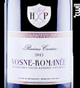 VOSNE-ROMANEE - Maison Henri Pion - 2014 - Rouge