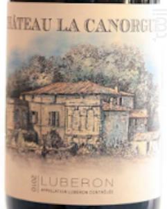 Canorgue - Chateau La Canorgue - 2019 - Blanc