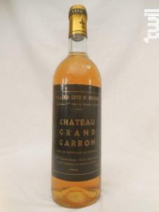 Château Grand Garron - Château Grand Garron - 1970 - Blanc