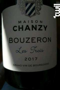 Bouzeron Les Trois - Maison Chanzy - 2018 - Blanc