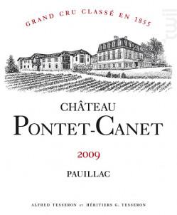 Château Pontet-Canet - Château Pontet-Canet - 2009 - Rouge