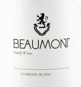 Chenin blanc - BEAUMONT - 2019 - Blanc