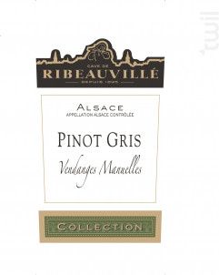 Pinot Gris Collection - Cave de Ribeauvillé - 2017 - Blanc