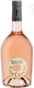Saint-Clément - Château Trians - 2020 - Rosé