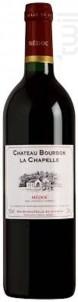 Château Bourbon La Chapelle - Château Castera- Château Bourbon La Chapelle - 1992 - Rouge