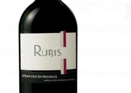 RUBIS - Les Vignerons du Roy Rene SCA - 2015 - Rouge