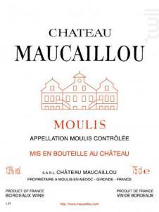 Château Maucaillou - Château Maucaillou - 2017 - Rouge