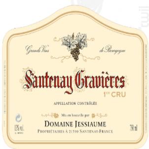 Santenay Premier Cru Gravières - Domaine Jessiaume - 2011 - Rouge