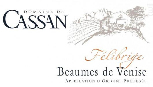 Félibrige - Domaine de Cassan - 2015 - Rouge