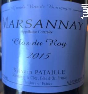 Marsannay Clos du Roy - Domaine Sylvain Pataille - 2016 - Rouge