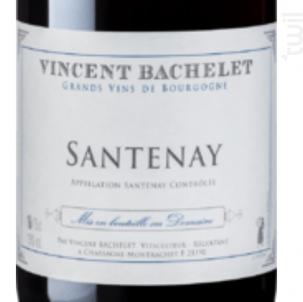 Santenay - Domaine Vincent Bachelet - 2011 - Rouge