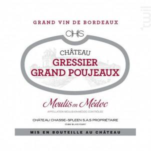 Château Gressier Grand Poujeaux - Château Gressier Grand Poujeaux - 2012 - Rouge