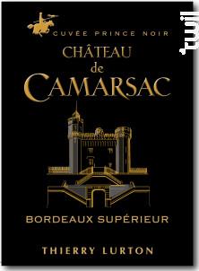 Château de Camarsac Prince Noir - Château de Camarsac - 2016 - Rouge