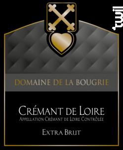 Crémant de Loire Blanc Extra-Brut - Domaine de la Bougrie - 2015 - Effervescent