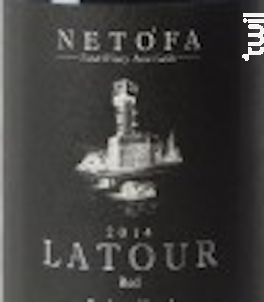 La Tour - Netofa - 2017 - Rouge