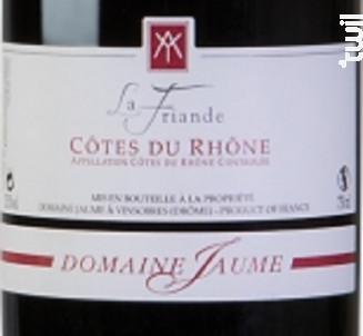 Côte-du-Rhônes - Domaine Jaume Pascal & Richard - 2019 - Rouge