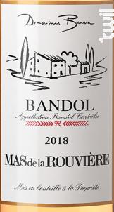 Mas de la  Rouvière - Domaines Bunan - Château la Rouvière - 2018 - Rosé