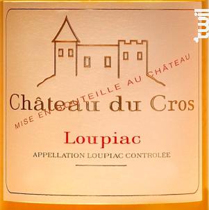 Château du Cros - Château Du Cros - Famille Boyer - 2003 - Blanc