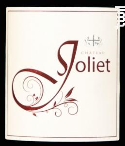 Rouge classique - Château Joliet - 2017 - Rouge