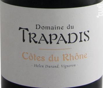 Côtes du Rhône - Domaine du Trapadis - 2016 - Rouge