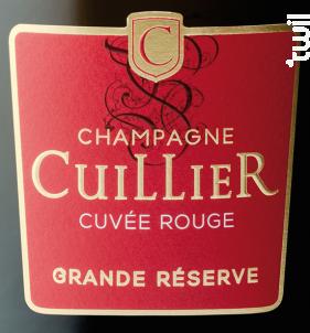 Grande Réserve - Champagne Cuillier - Non millésimé - Effervescent