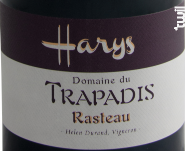 Harys - Domaine du Trapadis - 2014 - Rouge