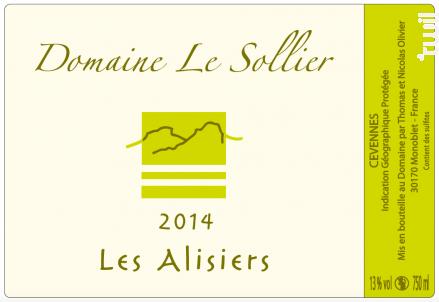Les Alisiers - Domaine Le Sollier - 2019 - Blanc