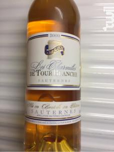 Les Charmilles de Tour Blanche - Château La Tour Blanche - 2000 - Blanc