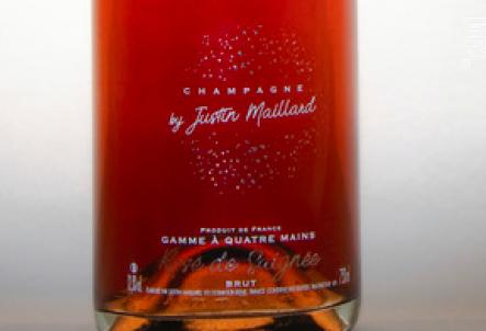 Rosé de Saignée Brut - Champagne by Justin Maillard - Non millésimé - Effervescent