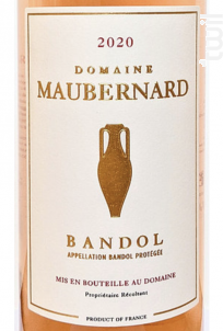Bandol - Domaine Maubernard - 2020 - Rosé