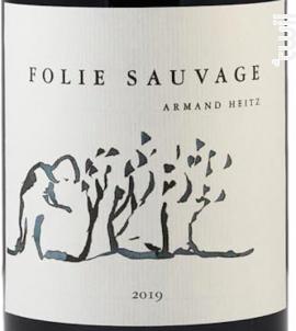 Folie Sauvage - Armand Heitz - 2019 - Rouge