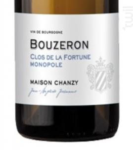 Bouzeron Clos de La Fortune Monopole - Maison Chanzy - 2019 - Blanc