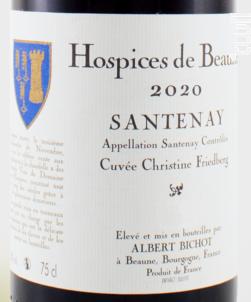 Santenay Cuvée Christine Friedberg - Albert Bichot - 2020 - Rouge
