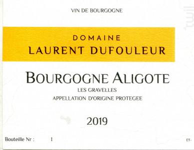 Bourgogne Aligoté - Maison L. Tramier et Fils - 2019 - Blanc