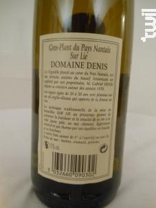 Domaine Denis - Domaine Gabriel Denis - 2011 - Blanc