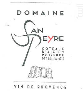 DOMAINE SAN PEYRE - Les Vignerons du Roy Rene SCA - 2017 - Rosé